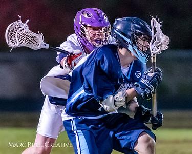 Broughton varsity lacrosse vs. Hoggard. March 28, 2018.