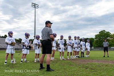Broughton varsity lacrosse vs. Millbrook. April 27, 2018.