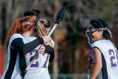 Broughton Lady Caps lacrosse vs. Sanderson. March 22, 2018.
