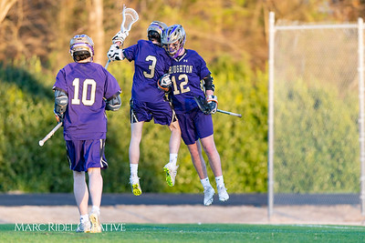 Broughton varsity lacrosse vs Millbrook. March 27, 2019. D4S_5269