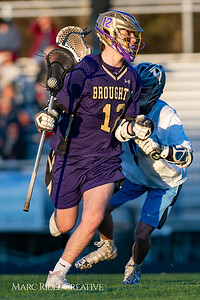 Broughton varsity lacrosse vs Millbrook. March 27, 2019. D4S_5262