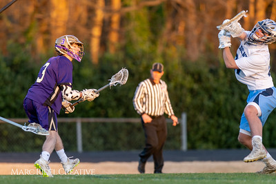 Broughton varsity lacrosse vs Millbrook. March 27, 2019. D4S_5364