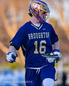 Broughton varsity lacrosse vs Millbrook. March 27, 2019. D4S_5288