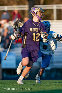 Broughton varsity lacrosse vs Millbrook. March 27, 2019. D4S_5263