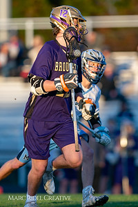 Broughton varsity lacrosse vs Millbrook. March 27, 2019. D4S_5264