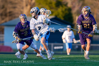 Broughton varsity lacrosse vs Millbrook. March 27, 2019. D4S_5277