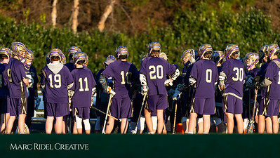 Broughton varsity lacrosse vs Millbrook. March 27, 2019. D4S_5198