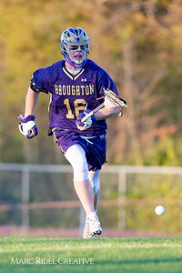 Broughton varsity lacrosse vs Millbrook. March 27, 2019. D4S_5280