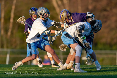 Broughton varsity lacrosse vs Millbrook. March 27, 2019. D4S_5253