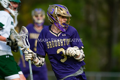 Broughton varsity lacrosse vs Southeast Raleigh. April 4, 2019. D4S_1717