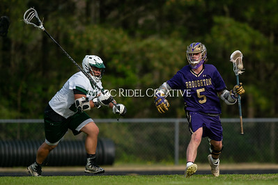 Broughton varsity lacrosse vs Southeast Raleigh. April 4, 2019. D4S_1740