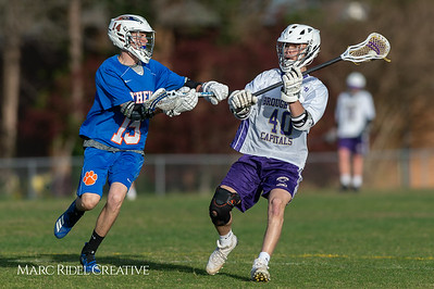 Broughton JV lacrosse vs Athens Drive. March 28, 2019. D4S_7597