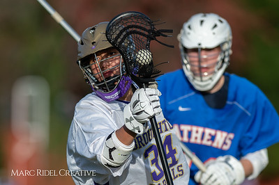 Broughton JV lacrosse vs Athens Drive. March 28, 2019. D4S_7600