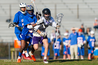 Broughton JV lacrosse vs Athens Drive. March 28, 2019. D4S_7330