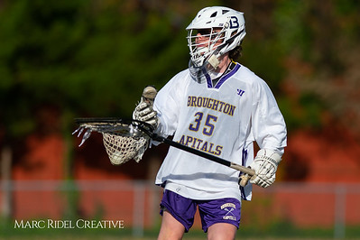 Broughton JV lacrosse vs Athens Drive. March 28, 2019. D4S_7411
