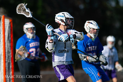 Broughton JV lacrosse vs Athens Drive. March 28, 2019. D4S_7326