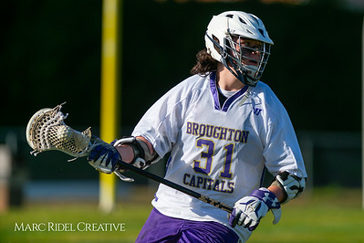 Broughton JV lacrosse vs Athens Drive. March 28, 2019. D4S_7364