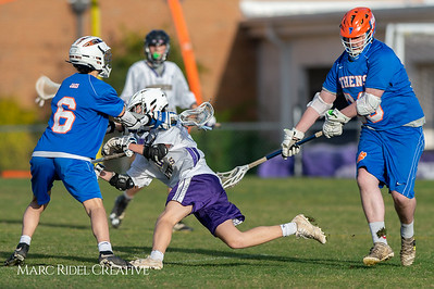 Broughton JV lacrosse vs Athens Drive. March 28, 2019. D4S_7590
