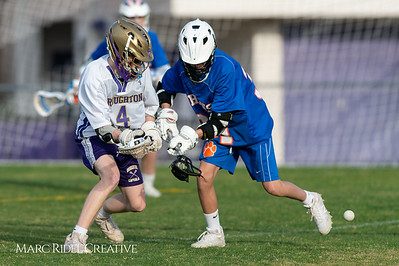 Broughton JV lacrosse vs Athens Drive. March 28, 2019. D4S_7536