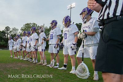 Broughton varsity lacrosse vs Cardinal Gibbons. April 11, 2019. D4S_6847