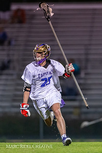 Broughton varsity lacrosse vs Leesville. March 15, 2019. D4S_8886