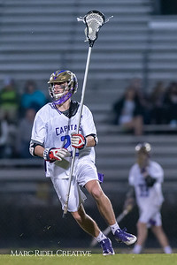 Broughton varsity lacrosse vs Leesville. March 15, 2019. D4S_8877