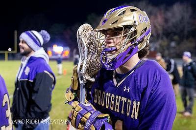 Broughton varsity lacrosse vs Panther Creek. March 4, 2019. D4S_3770