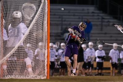 Broughton varsity lacrosse vs Panther Creek. March 4, 2019. D4S_3709
