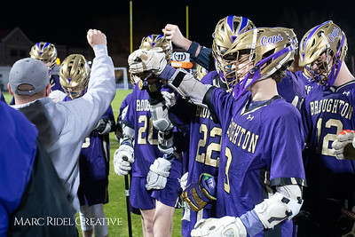 Broughton varsity lacrosse vs Panther Creek. March 4, 2019. D4S_3760