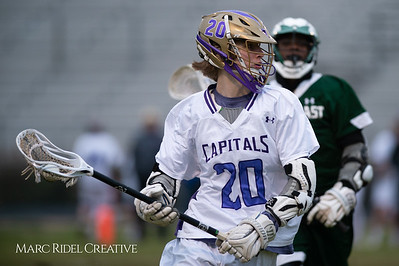 Broughton varsity lacrosse vs Southeast Raleigh. March 8, 2019. D4S_5222