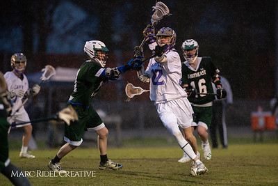 Broughton varsity lacrosse vs Southeast Raleigh. March 8, 2019. D4S_5322