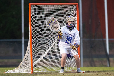 Broughton varsity lacrosse vs Southeast Raleigh. March 8, 2019. D4S_5259