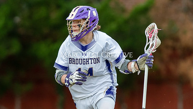 Broughton boys varsity lacrosse vs Enloe. March 10, 2020. D4S_7841