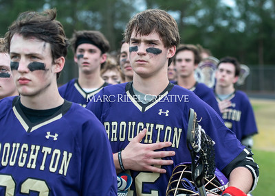 Broughton lacrosse vs Leesville. March 13, 2020. MRC_4838