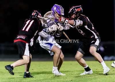 Broughton boys varsity lacrosse vs Middle Creek. February 28, 2020. D4S_0790