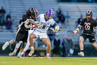 Broughton boys varsity lacrosse vs Middle Creek. February 28, 2020. D4S_0754
