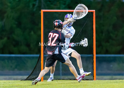 Broughton boys varsity lacrosse vs Middle Creek. February 28, 2020. D4S_0740