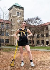 Broughton Lady Caps lacrosse senior photoshoot. February 26, 2020. MRC_5363