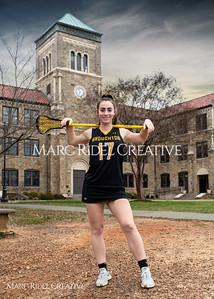 Broughton Lady Caps lacrosse senior photoshoot. February 26, 2020. MRC_5355