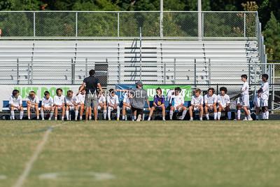 Broughton JV soccer vs Green Level. September 7, 2021.