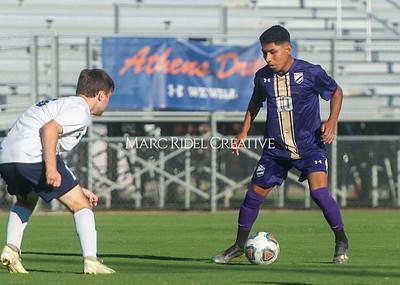 Broughton varsity soccer vs Millbrook. September 2, 2021.