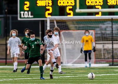 Broughton soccer vs Cardinal Gibbons. February 8, 2021