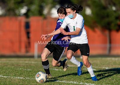 Broughton JV and varsity soccer vs Cardinal Gibbons. March 3, 2021