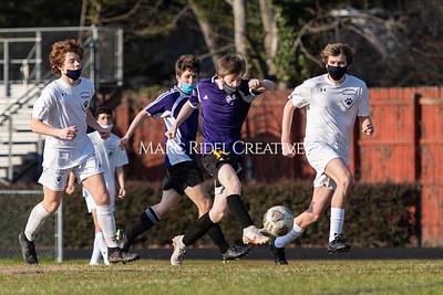 Broughton JV and varsity soccer vs Millbrook. March 10, 2021