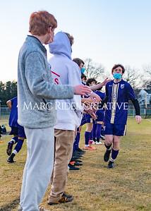 Broughton varsity soccer vs Southeast Raleigh. January 27, 2021