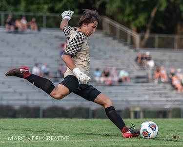 Broughton varsity soccer vs. Green Hope. August 15, 2018.