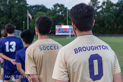 Broughton soccer vs Sanderson. September 26, 2018.