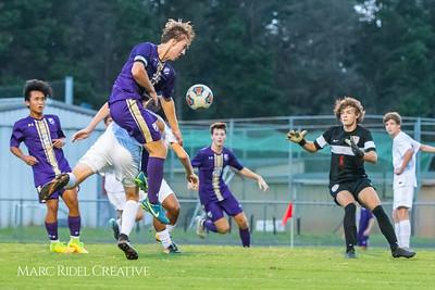 Broughton soccer vs Sanderson. September 26, 2018.
