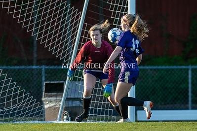 Broughton JV soccer vs Apex. April 3, 2019. D4S_0946