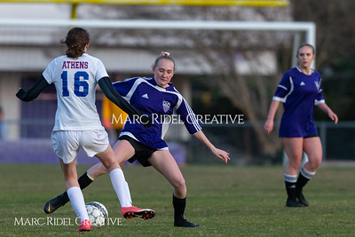 Broughton JV soccer vs Athens Drive. March 7, 2019. D4S_4635